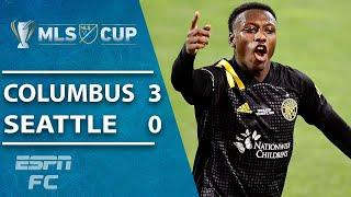 CHAMPIONS! Columbus Crew end Seattle Sounders' reign to win second title | ESPN FC MLS Highlights