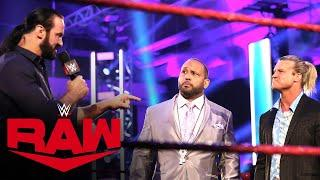 """Drew McIntyre confronts Dolph Ziggler on """"The VIP Lounge"""": Raw, July 13, 2020"""