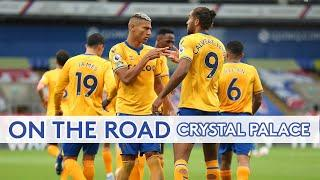 ON THE ROAD: CRYSTAL PALACE V EVERTON   BEHIND THE SCENES AT SELHURST PARK