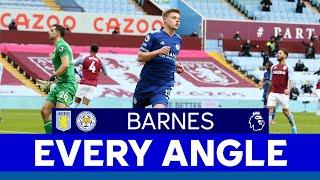 EVERY ANGLE | Harvey Barnes vs. Aston Villa | 2020/21