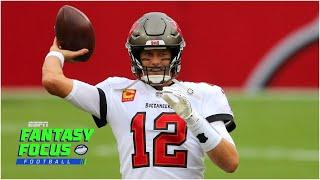 Buccaneers and Bears fantasy preview | Fantasy Focus Live