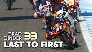 Brad Binder's Crazy Moto3 Comeback: From 35th To First in Jerez