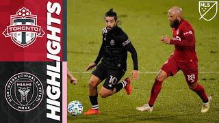 Toronto FC vs Inter Miami CF | November 1, 2020 | MLS Highlights