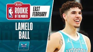 LaMelo Ball Secures #KiaROTM Honors For February   Eastern Conference