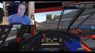 Parker Kligerman explains a lap around Texas on iRacing | NASCAR