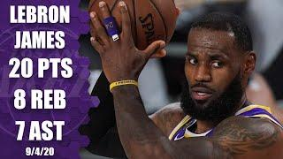 LeBron James highlights: Rockets vs. Lakers Game 1 | 2020 NBA Playoffs