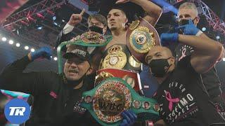 Behind the Scenes as Teofimo Lopez Upsets Vasiliy Lomachenko to become Undisputed Champion
