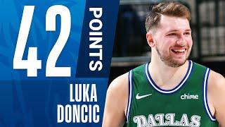 Luka Doncic Pours In 42 PTS, Propelling The Mavericks To Victory!