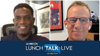 Robbie Mustoe, Robbie Earle break down Premier League return barriers | Lunch Talk Live | NBC Sports