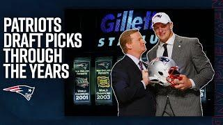 Ty Law, Gronk & MORE Patriots Draft Picks Throughout the Years | NFL Compilation