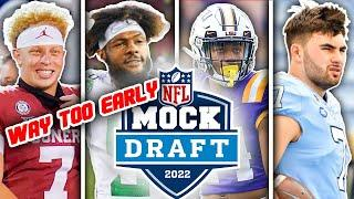 WAY TOO EARLY 2022 NFL First Round Mock Draft (Post Draft)