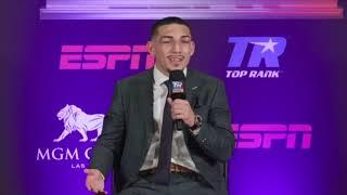TEOFIMO LOPEZ (FULL) POST-FIGHT PRESS CONFERENCE AS HE STUNS VASYL LOMACHENKO / NEW UNDISPUTED CHAMP