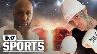 Lamar Odom Set to Fight Aaron Carter In Celebrity Boxing Match | TMZ Sports