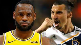 """Zlatan Ibrahimovic Slams LeBron James For Getting Involved In Politics, """"Do What You're Good At."""""""