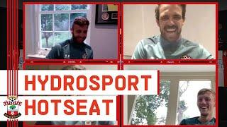 MONSTER HYDROSPORT HOTSEAT: Armstrong, Gunn, Ings and Ward-Prowse face the questions