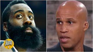 Robert Horry and Richard Jefferson react to the James Harden trade   The Jump