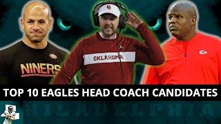 Top 10 Eagles Head Coach Candidates To Replace Doug Pederson Ft. Lincoln Riley & Robert Saleh