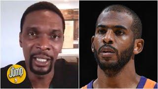 Chris Paul is showing us the Suns want to win a championship - Chris Bosh ️ | The Jump