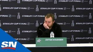 'No Feelings, Just Loss' Says Anton Khudobin After Stanley Cup Final Defeat