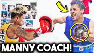 *LEAKED* CASIMERO TRAINING CAMP with PACQUIAO TEAM for INOUE NAOYA (SPARRING, HEAVY BAG, STRENGTH)