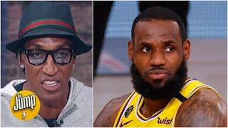 Scottie Pippen: Jimmy Butler challenged LeBron's manhood, and LeBron responded | The Jump