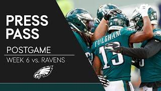 Eagles Players React to Loss to Ravens | Eagles Press Pass
