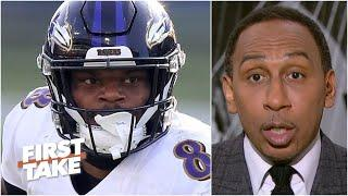 Stephen A.: Lamar Jackson 'deserves major props' for silencing his critics | First Take
