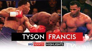 Mike Tyson knocksdown Julius Francis FIVE times in FOUR minutes | Fight Rewind