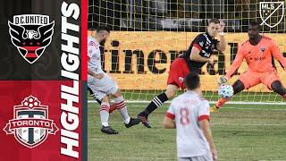 D.C. United vs. Toronto FC | MLS Highlights | September 19, 2020