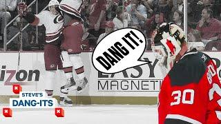 NHL Worst Plays Of All-Time: Last Second Madness In New Jersey | Steve's Dang-Its