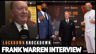 """He will have to fight the winner of Dubois v Joyce!"" Frank Warren on AJ, Fury, Usyk, Dubois, Joyce"