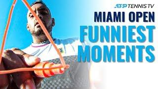 Funny Tennis Moments & Fails from the Miami Open!