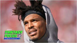 Is Cam Newton a QB1 in New England? | Fantasy Focus Live!