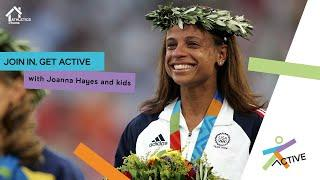 Home Fitness Class with Joanna Hayes | Athletics@Home