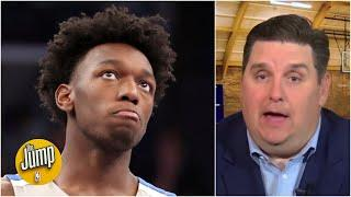 Brian Windhorst's NBA draft intel: Hornets could move up for Wiseman, Warriors monitoring | The Jump