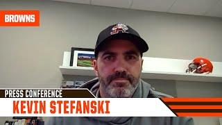 """Kevin Stefanski: (On Baker Mayfield) """"You're seeing all the fruits of his labor."""""""