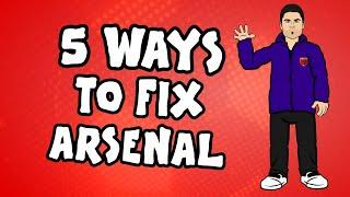 5 Ways To Fix Arsenal!   Onefootball x 442oons