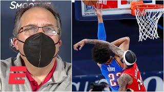 Stan Van Gundy reacts to Brandon Ingram's ejection in Pelicans' win vs. Thunder | NBA on ESPN