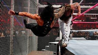 Roman Reigns collides with Bray Wyatt inside Hell in a Cell: WWE Hell in a Cell 2015