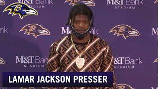 Lamar Jackson Says Ravens Offense Needs to Improve After Week 5 Win | Baltimore Ravens