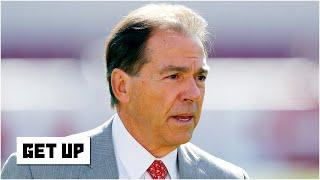Nick Saban says football players are safer on Alabama's campus than at home | Get Up