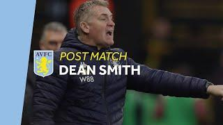 POST MATCH | Dean Smith reacts to Watford defeat