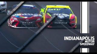 Watch: Kyle Busch doors Blaney early in Indy | NASCAR Cup Series