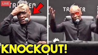 """*WOW* MIKE TYSON: """"I AM HAPPY I DIDN'T GET KNOCKED OUT BY ROY JONES JR""""- FULL POST FIGHT PRESS"""