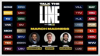 March Madness Tournament Betting Show: Talk the Line with FOX Bet! | FOX SPORTS