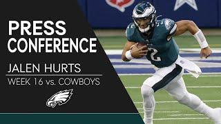 """Jalen Hurts on Loss to Cowboys: """"Big-Time Learning Experience"""" 