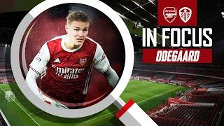 Martin Odegaard | Every Touch | Arsenal 4-2 Leeds | Premier League