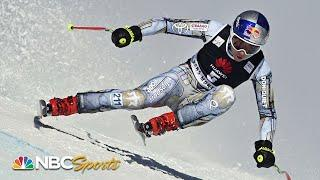 Ester Ledecka crashes into net in Crans-Montana World Cup downhill race | NBC Sports