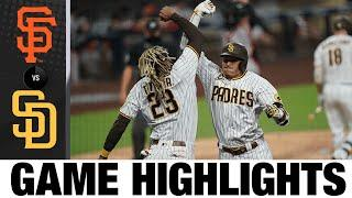 Manny Machado homers in 6-1 win | Giants-Padres Game Highlights 9/10/20