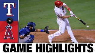 Mike Trout hits go-ahead single in 8th in Angels' win | Rangers-Angels Game Highlights 9/19/20